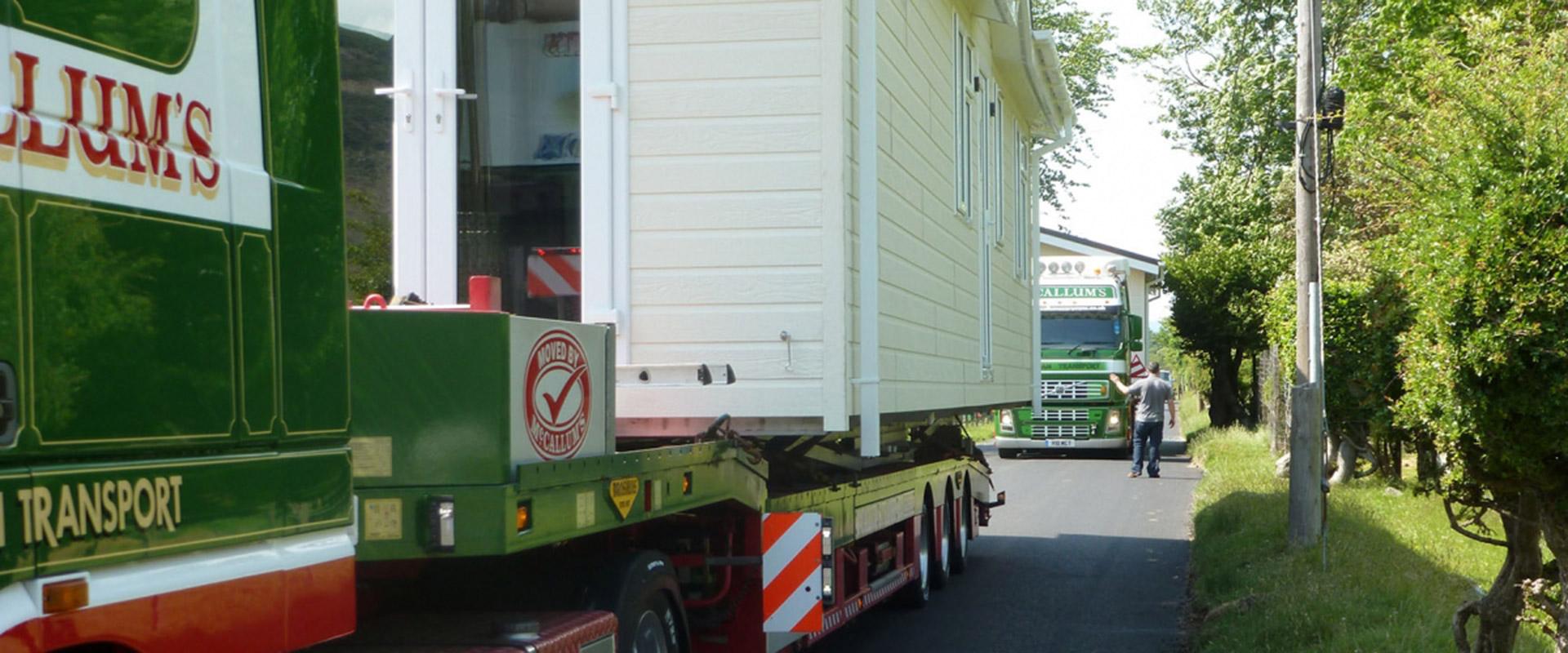 Pre-owned Static Caravans Scotland | Static Caravan Transport